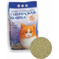Сибирская кошка наполнитель Прима минеральный комкующийся