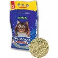 Сибирская кошка наполнитель СУПЕР минеральный комкующийся