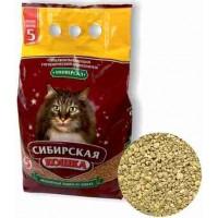 Сибирская кошка наполнитель Универсал минеральный впитывающий