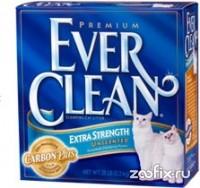 Ever Clean Extra Strength Unscented наполнитель без ароматизатора для чувствительных к запахам кошек и их хозяев