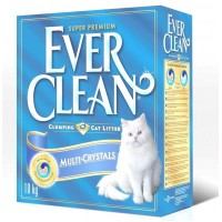 EVER CLEAN Multi crystal Blend наполнитель без ароматизатора с добавлением кристаллов