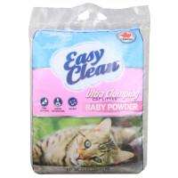 EASY CLEAN Baby Powder Scent глиняный комкующийся наполнитель, гипоаллергенный, ароматизированный