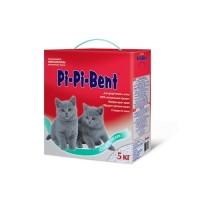 PI-PI-BENT наполнитель комкующийся для котят (коробка)