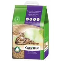 Cat`s Best Smart Pellets наполнитель древесный комкующийся для кошачьего туалета