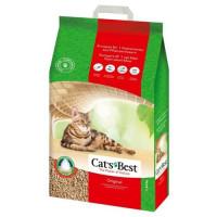 Cat`s Best Original наполнитель древесный комкующийся для кошачьего туалета