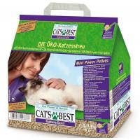 Cat`s Best Nature Gold наполнитель древесный комкующийся для кошачьего туалета