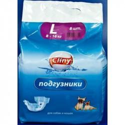 Cliny Подгузники для животных 17-30 кг размер XL