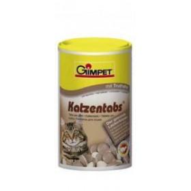 Gimpet витаминизированное лакомство Katzentabs для кошек с дичью 710 шт.