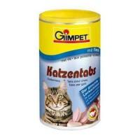 Gimpet витаминизированное лакомство Katzentabs для кошек с рыбой, 710 шт.