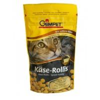 Gimpet витаминизированное лакомство Kase-Rollis для кошек сырные ролики 400 шт.