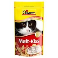 Gimpet лакомство Malt-Kiss для выведения комочков шерсти из ЖКТ для кошек
