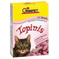 """Gimpet Витаминизированное лакомство для кошек """"Мышки"""" с творогом и таурином 190 шт."""