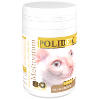 POLIDEX Витамины Multivitum plus для кошек 80 таб.