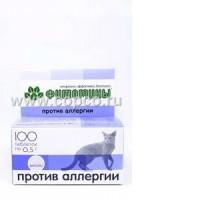 """Фитомины для кошек """"Против аллергии"""" 100 таб."""