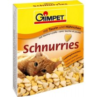 Gimpet Витамины для кошек Сердечки с курицей