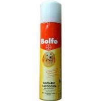 Bayer Больфо аэрозоль от блох и клещей для собак и кошек