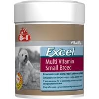 8 in 1 Эксель мультивитамины для собак мелких пород 150 мл 70 таблеток